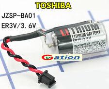 10PCS / NEW Original for Toshiba ER3V 3.6V PLC Battery With Plug