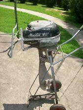 VINTAGE MARTIN MODEL 40 OUTBOARD MOTOR