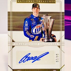 Brad Keselowski 2020 National Treasures Racing *Championship Signatures* #4/25