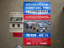 Vintage Watkins Glen Indy car lot 1980-1981 CART Poster ticket newsletter