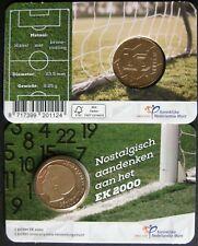 Nederland 5 Gulden 2000 EK in Coincard ( uitgifte 2021 )