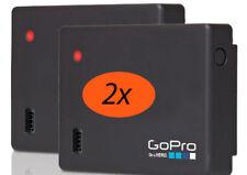 2-Pack GoPro Battery BacPac ABPAK-301 FOR HERO4 HERO3+ HERO3 BacPac Only