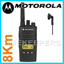 8 Km Motorola XT460 Walkie Talkie Dos Vías PMR 446 Negocios Militar Radio IP55