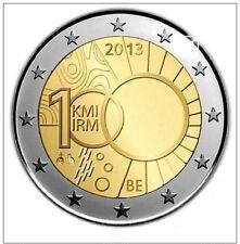 ---   2 EURO COMMEMORATIVE - UNC - BELGIQUE 2013 - 100 ans IRM   ---