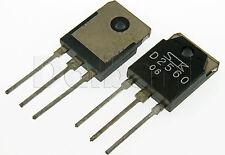 2SD2560 Original Pulled Sanken NPN Triple Diffused Transistors D2560