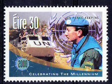 Ireland MNH, Millennium, US Peace Keeping, Tanks, Soldiers   -NM9