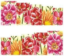 Nail Art Decals Transfers Stickers Pretty Flowers (A-846)