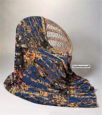 "Navy Camo Camouflage Woods Luxury Soft Fleece Cashmere Throw Blanket 60""x80"""