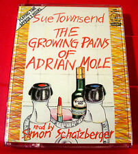Sue Townsend The Growing Pains Of Adrian Mole 2-Tape Audio Bk Simon Schatzberger