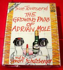 Sue Townsend The Growing Pains Of Adrian Mole 2-Tape Audio Bk Simon Schatzberger