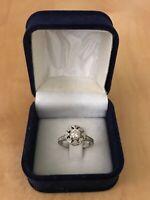 Kobelli 14k White Gold 1/2ct TDW Diamond Edwardian Antique Engagement Ring S: 4