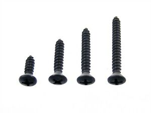 """Ford Truck #6 Phillips Oval Head Trim Screws- 1/2"""" to 1-1/4"""" Long- 100 pcs- #337"""