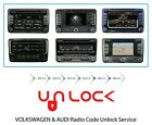 VW ONLY radio unlock service pin code decode fast service volkswagen READ