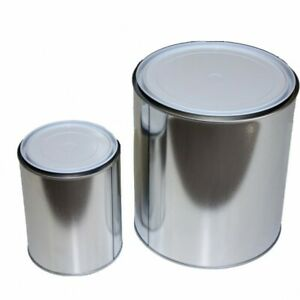 Empty Paint Tins - Lined