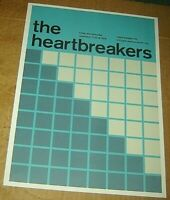 HEARTBREAKERS TOM PETTY ROCK CONCERT POSTER SWISS PUNK GRAPHIC POP ART 10X14