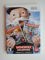 Monopoly Collection Game Complete! Nintendo Wii