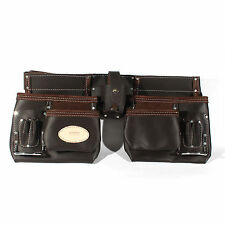 Advanced Belt-type Leather Tool Pouch Electrician Carpenter Tools Bag with Belt