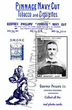 NEWPORT RUGBY UNION - Pinnace 1920's repro advertising cards