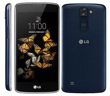 """LG K8 Blu/Bianco K350N 8GB 4G Sbloccato * ~ ~ * GPS 5.0"""" POLLICI WIFI HD Smartphone buona condizione +"""