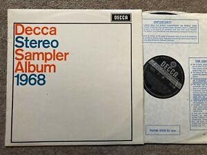 SXL 6362 WBG  1st NM DECCA STEREO SAMPLER ALBUM 1968  ..NM