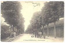 CPA 18 - Camp d'AVORD (Cher) - 17. Rue Principale