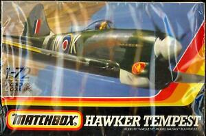 1983 Matchbox Models 1/72 HAWKER TEMPEST British WWII Fighter *SEALED*