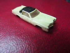 Vintage Plastic Miniature Bachmann Car Made in Hong Kong