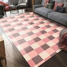 Geometric Abstract Living Room Carpet Nordic Modern Minimalist  Anti-slip Mat