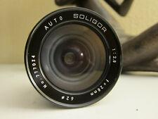 Soligor Wide-Angle Auto f 2.8 28mm Lens for Minolta