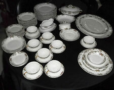 """66 Pieces W.M. Guerin & Co France Limoges for Gimbel """"Pattern GUE108"""" 1891-1932"""