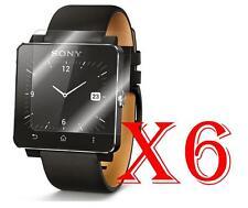 6 PZ PELLICOLA PROTEZIONE DISPLAY PER Sony Smartwatch 2 PROTEGGI SCHERMO LCD