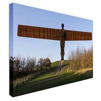 Angel of the North, Gateshead, UK Canvas Art Cheap Wall Print Home Interior