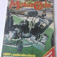 Motor Cycle Magazine BMW's Modernday Classic December 1983 071817nonrh2
