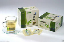 Korean Tea 50ea Bamboo LEAF Tea Bag in BOX Easy to Eat Green leaves Roasted