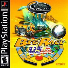 Pro-Pinball: Big Race USA For PlayStation 1 PS1 7E