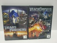 Transformers and revenge of the fallen dvd transformers 1&2 2007 & 2009