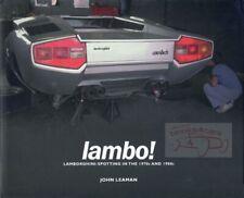 Lamborghini Spotting Book Leaman Lambo Fits Lamborghini Jalpa