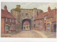 Land Gate Rye Sussex Vintage Art Postcard 685a