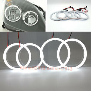 cotton LED angel eye halo ring for Opel Astra H 2004-2007 Halogen headligiht DRL