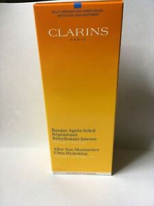 CLARINS After Sun Moisturizer Ultra Hydrating 200ml new&boxed