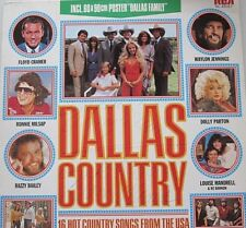 DALLAS COUNTRY - 16 HOT COUNTRY SONGS  - LP