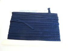 Vintage 34 Yards of Navy Blue Trim for Doll Clothes Making