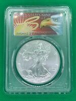 2019 ASE $1 PCGS MS70 FS 1 of 1000 Thomas Cleveland 1oz .999 Silver Coin