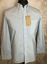 Women's - A.P.C - Blue and White Striped Shirt - UK Small / 38