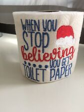 Novelty Toilet Roll Secret Santa Funny Christmas Eve Xmas Stocking Present Gift