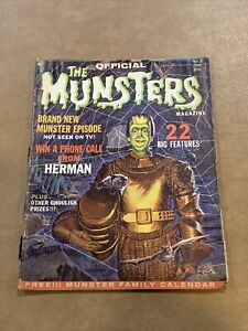 The Official Munsters Magazine #1 (1965)