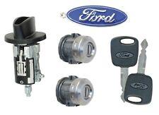 Ford F150 - 1999-2003 - Ignition Cylinder & 2 Door Locks with 2 Transponder Keys