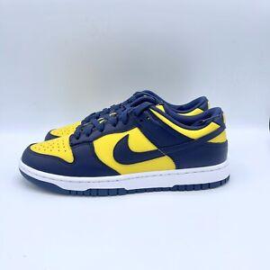 Nike Dunk Low Retro Michigan DD1391-700 Men Size