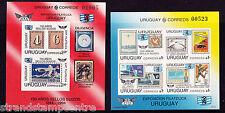 More details for uruguay - 1993 stamp exhibition - u/m - sg ms2133 (2) imperf