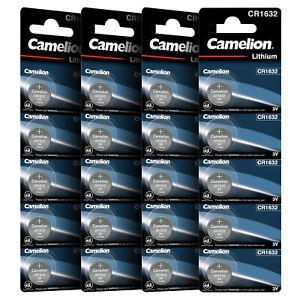 Autoschlüssel Knopfzellen CR1632 CR-1632 1632 CAMELION Knopfbatterie MHD 10.2031